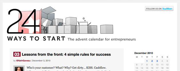 Entrepreneurs Advent Calendar