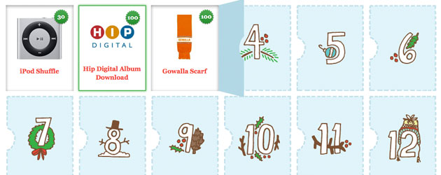 Gowalla Advent Calendar