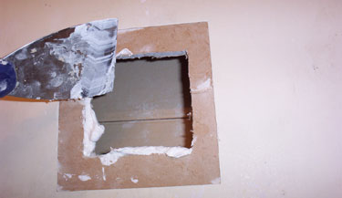 7-Plaster time.