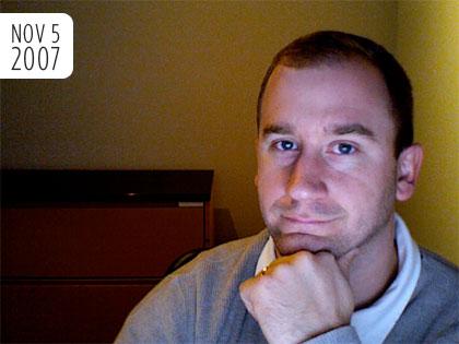 No Shave November - November 5, 2007