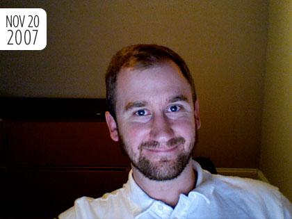 No Shave November - November 20, 2007