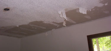 Small Crack In Popcorn Ceiling