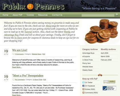 Publix 4 Pennies