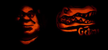 Shrek and Gators Halloween Pumpkins