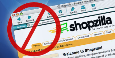 Shopzilla on IE5 for Mac.