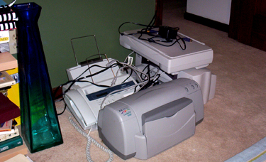 The All-In-All - A stack of obsolete peripherals.