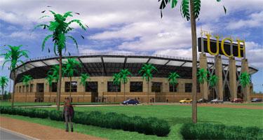 UCF Stadium Rendering