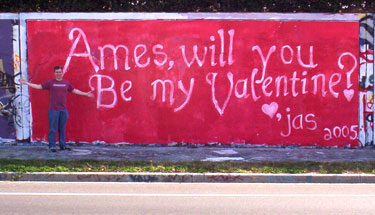 Ames, will you be my Valentine?